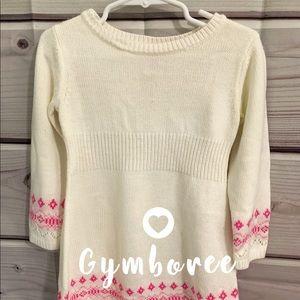 Gymboree soft winter sequins sweater dress